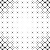 Abstract black and white thorn pattern background