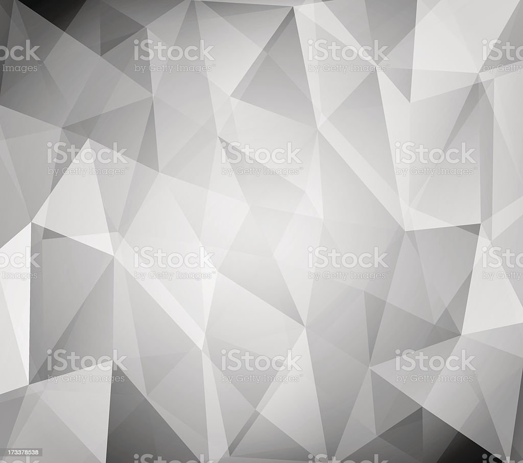 Black and white triangles background royalty-free stock vector art