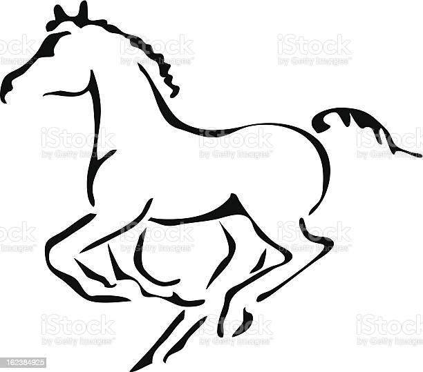 Black and white vector outlines of galloping foal vector id162384925?b=1&k=6&m=162384925&s=612x612&h=raikhvm5xvylnjuxk3ghwzojo0r4d2jbhlkfjj5idpi=