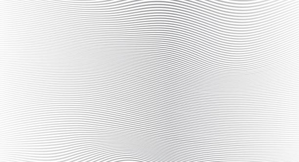 Black and white wave Stripe Background - simple texture for your design. EPS10 vector illustration background Black and white wave Stripe Background - simple texture for your design. EPS10 vector illustration background in a row stock illustrations
