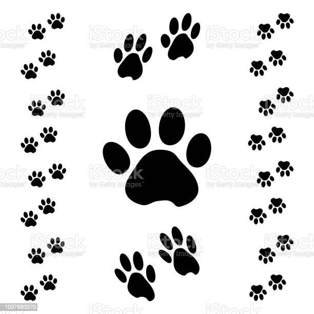 Black animal paw track isometric effect vector illustration vector id1037693370?b=1&k=6&m=1037693370&s=612x612&h=yqh3l0phv eip39konyrzwwzo9je2q0x1hwoiubw0 0=
