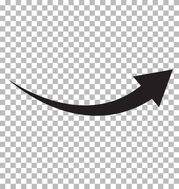black arrow icon on transparent background. flat style. arrow logo concept. arrow icon for your web site design, logo, app, UI. arrow indicated the direction symbol. curved arrow sign. black arrow icon on transparent background. flat style. arrow logo concept. arrow icon for your web site design, logo, app, UI. arrow indicated the direction symbol. curved arrow sign. arrows stock illustrations