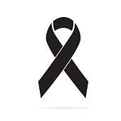 istock Black awareness icon 1159637433