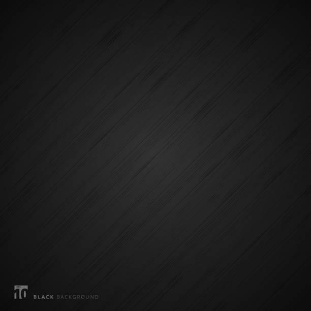 czarne tło i tekstura. abstrakcyjne realistyczne włókna metalowe. - ciemny stock illustrations