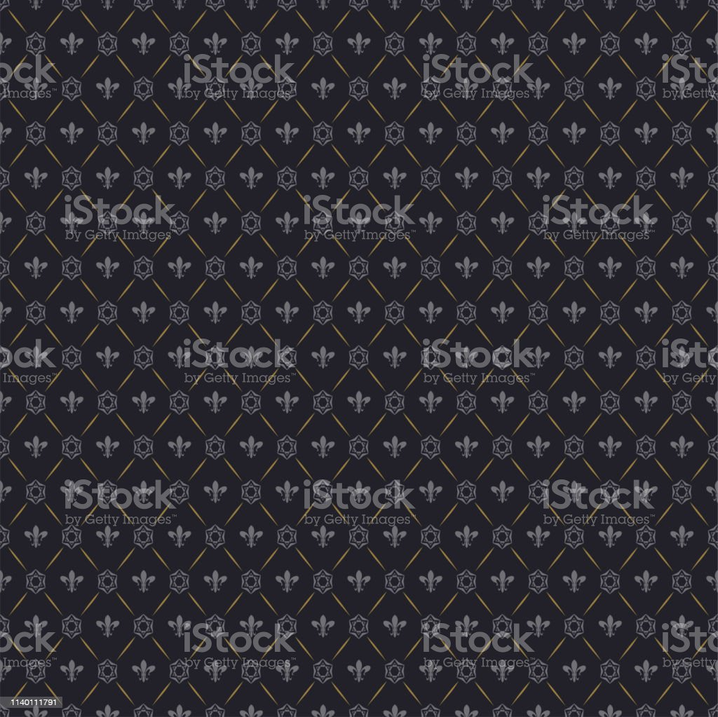 black background seamless wallpaper chinese japanese style for your vector id1140111791