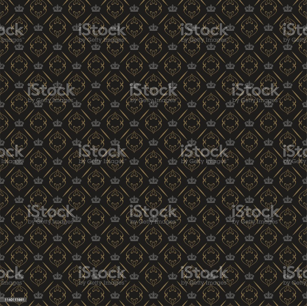 black background seamless wallpaper chinese japanese style for your vector id1140111941