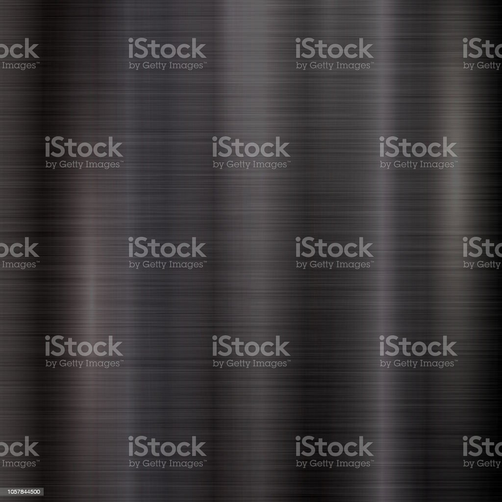 Black Background with Metal  Texture vector art illustration