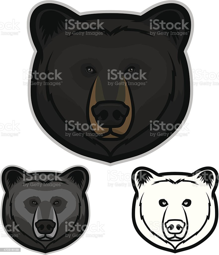 royalty free black bear clip art vector images illustrations istock rh istockphoto com black bear cub clipart black bear clipart black and white