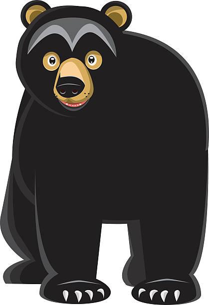Best Black Bear Illustrations, Royalty-Free Vector ...
