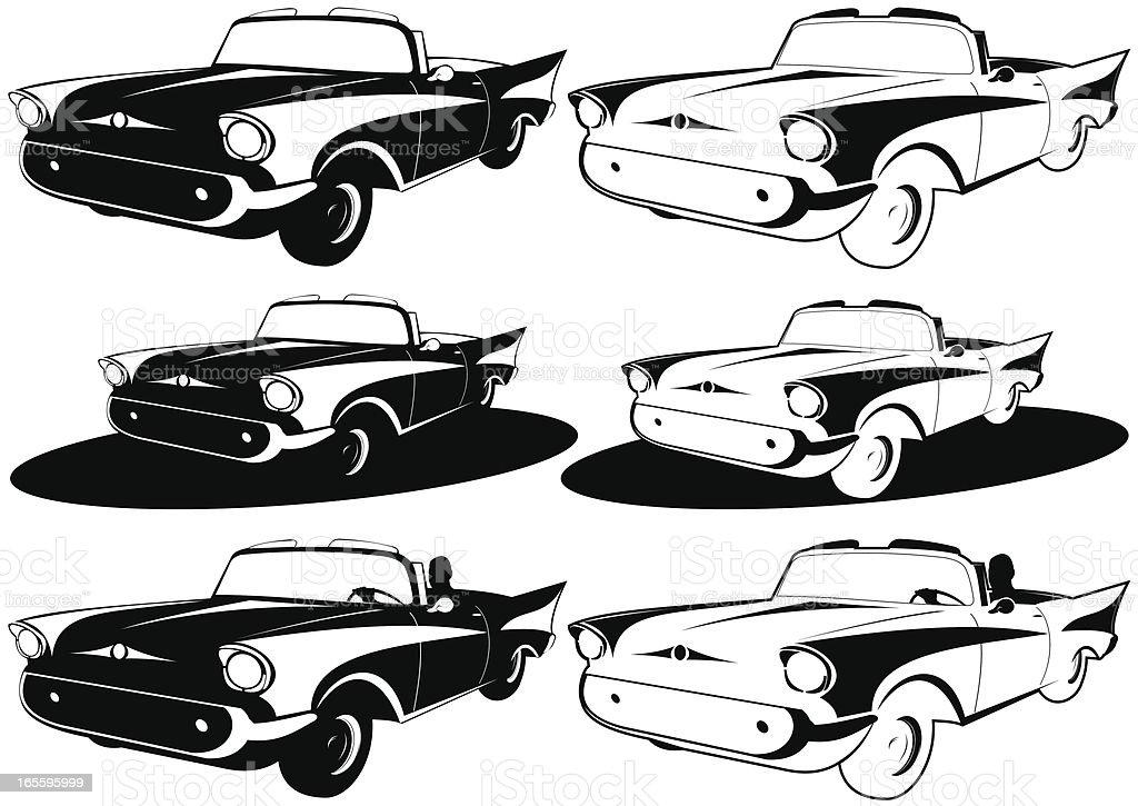 Noir automóvil XXXVII ilustración de noir automóvil xxxvii y más banco de imágenes de 1950-1959 libre de derechos