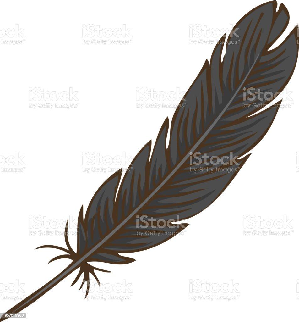 ブラックの鳥の羽 お守りのベクターアート素材や画像を多数ご用意 Istock