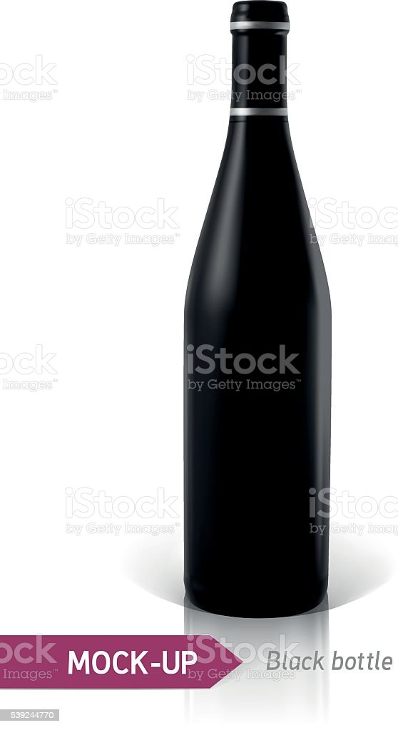 black bottles of wine or cocktail royalty-free black bottles of wine or cocktail stock vector art & more images of alcohol abuse