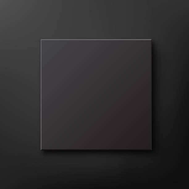 royalty free black cardboard box clip art vector images