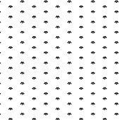 black branch scattered pattern background