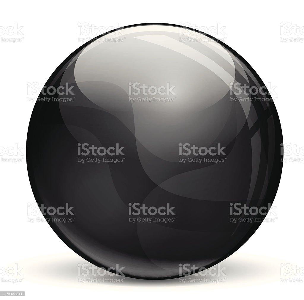 Black bubble royalty-free stock vector art