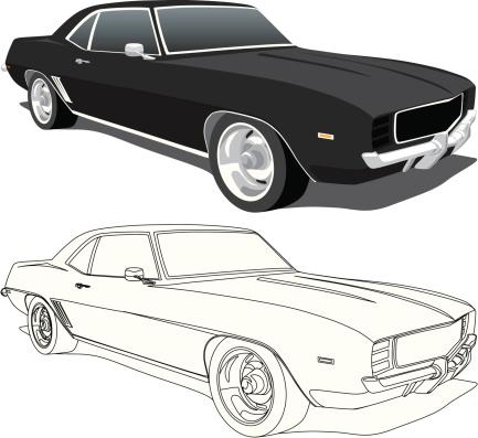 Black Camaro - 1969