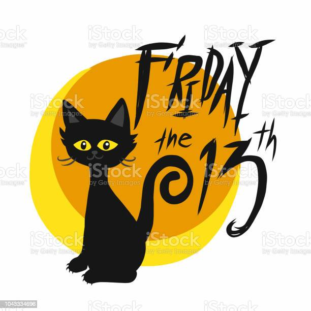 Black cat friday 13th and full moon cartoon vector illustration vector id1043334696?b=1&k=6&m=1043334696&s=612x612&h=gvwh w03qhe5oqxsyrf rg0hfjwbefsa7wp3tp2hyje=