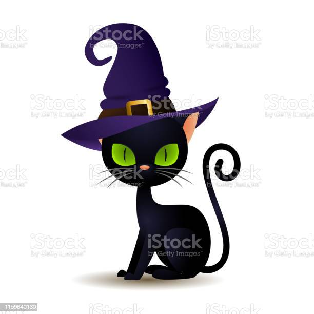 Black cat in witch hat vector id1159640130?b=1&k=6&m=1159640130&s=612x612&h=x88aom45v9zecrwb9wpskgi 0b0lhv m3hu mvq7dgy=