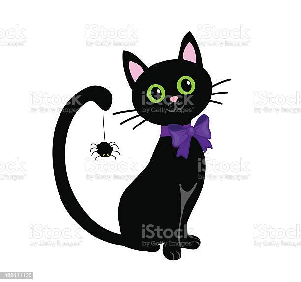 Black cat isolated on white backgroundhalloween vector id488411120?b=1&k=6&m=488411120&s=612x612&h=tcsnaa7pnwng6 7zmbl7a7o6bytn6lovs73k7 2oses=