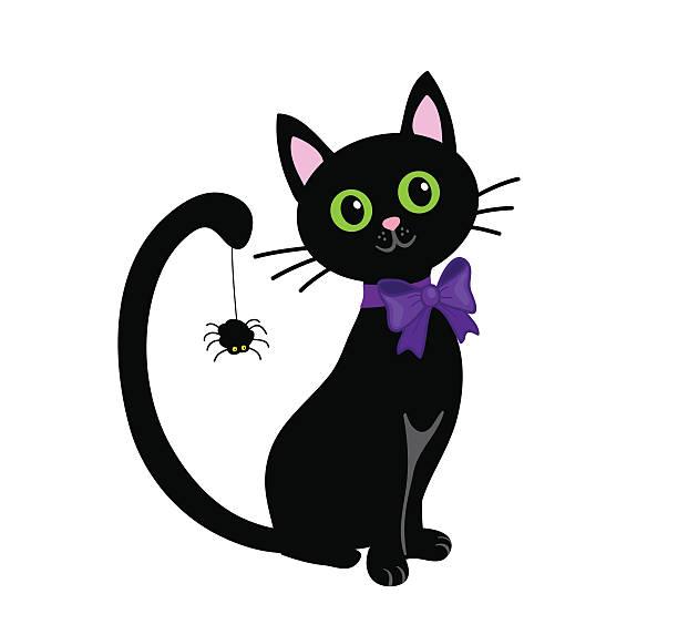 Top 60 Halloween Cat Clip Art, Vector Graphics and ...