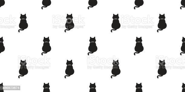 Black cat kitten cat tail full seamless pattern wallpaper background vector id686923874?b=1&k=6&m=686923874&s=612x612&h=wdn63tirtoouuacnco j0a izo58iseweu8g6ma2 pc=