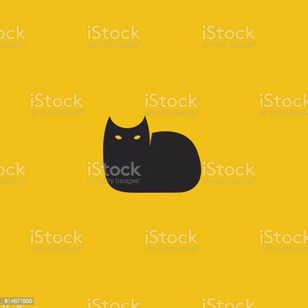 Black cat logo template vector illustration vector id814677600?b=1&k=6&m=814677600&s=612x612&h=phnsa tlyvv8pmvlqskhhwneuhe2zpsb3wkxzjcu8u4=