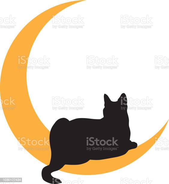 Black cat lying on gold moon icon vector id1030122434?b=1&k=6&m=1030122434&s=612x612&h=5br263whc0tklwqewv7zet1eocjnot93tqrcjruue q=