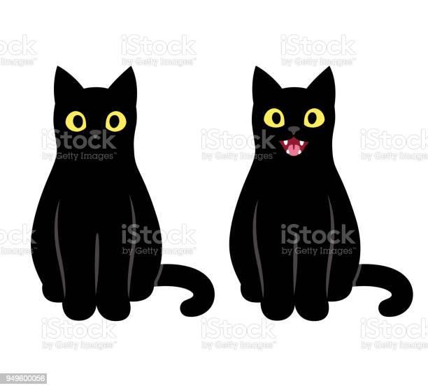 Black cat sitting illustration vector id949600056?b=1&k=6&m=949600056&s=612x612&h=ie1ddp34dc6lsq2bezfxxa1fn upcekpfn6lcjny1wu=