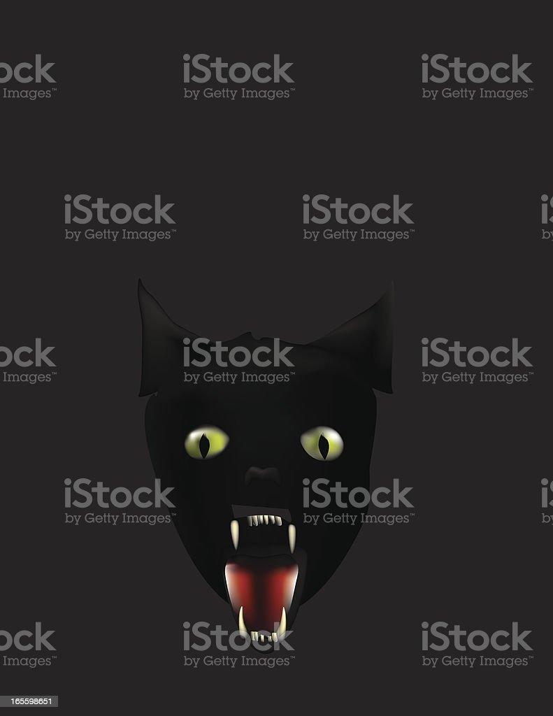 Black Cat royalty-free stock vector art