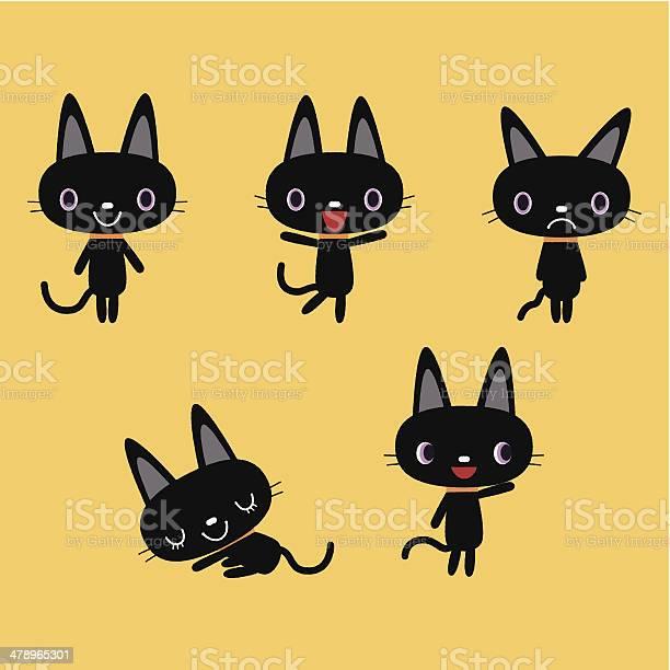 Black cat vector id478965301?b=1&k=6&m=478965301&s=612x612&h=iga8jzqt08naskkj2rg8vpg2bfhpdejmheupx6shmnw=