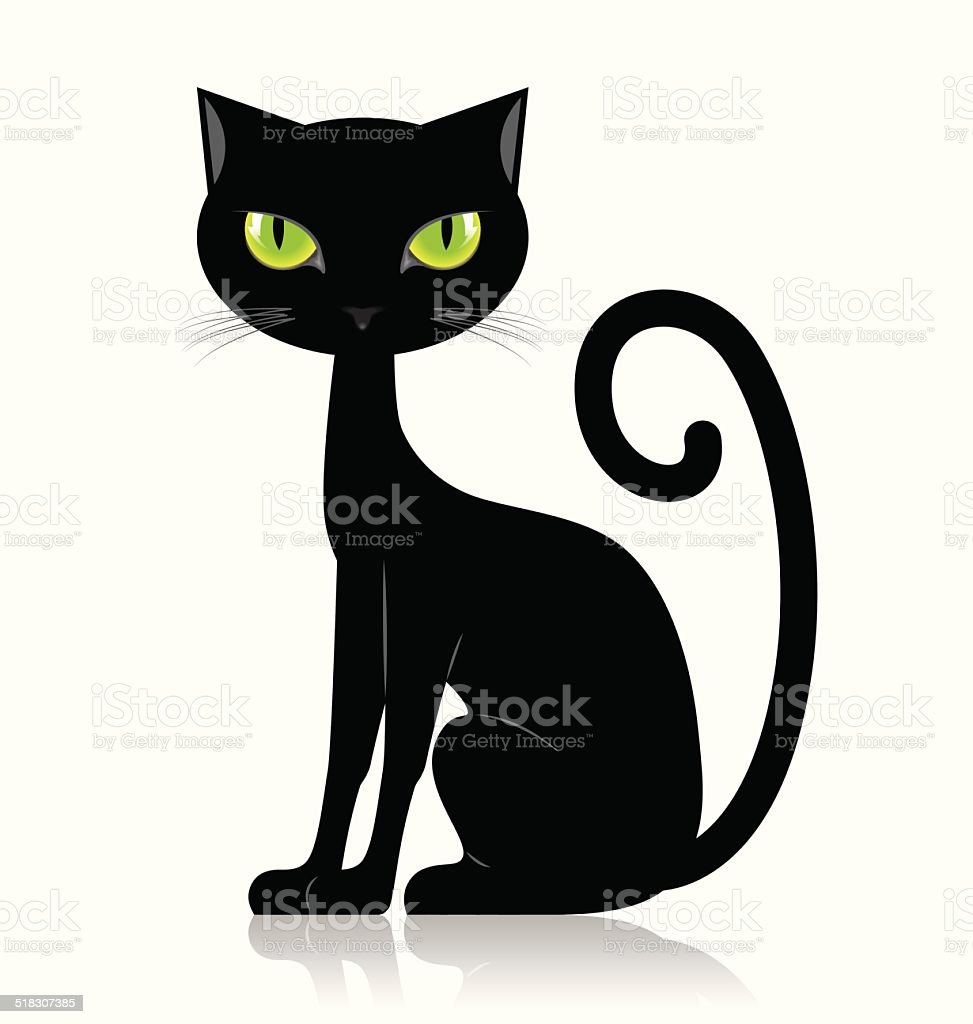 royalty free black cat clip art vector images illustrations istock rh istockphoto com black cat clip art halloween black cat clipart png