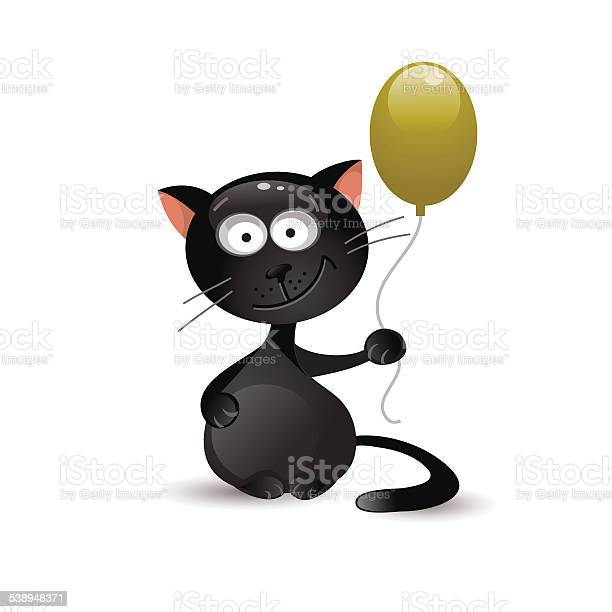 Black cat with balloon vector illustration vector id538948371?b=1&k=6&m=538948371&s=612x612&h=q1nhyfh1lsiphyvncoxk3bisy7r90qwkowh tfoaf4i=