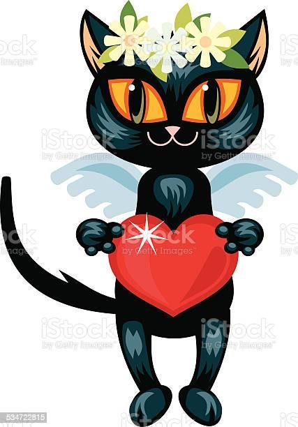 Black cat with red heart vector id534722815?b=1&k=6&m=534722815&s=612x612&h=vbixf3ykntkzzijwlf8rbrwlxjp0wbqkymwpiwt i6s=