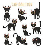 Black cats collection