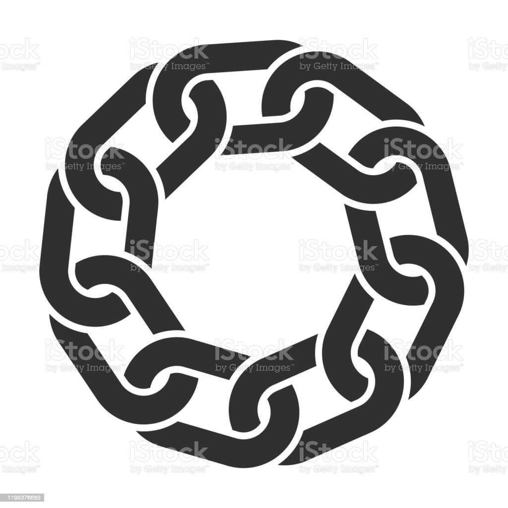black chain link circle logo icon symbol seamless metal chainlink sign ornament ring shape border round ring connect frame pattern vector illustration image isolated on white background stock illustration download image black chain link circle logo icon symbol seamless metal chainlink sign ornament ring shape border round ring connect frame pattern vector illustration image isolated on white background stock illustration download image