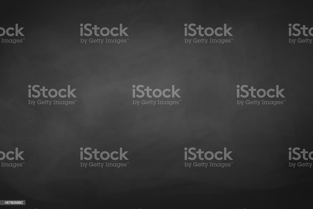 Black chalkboard background. vector art illustration