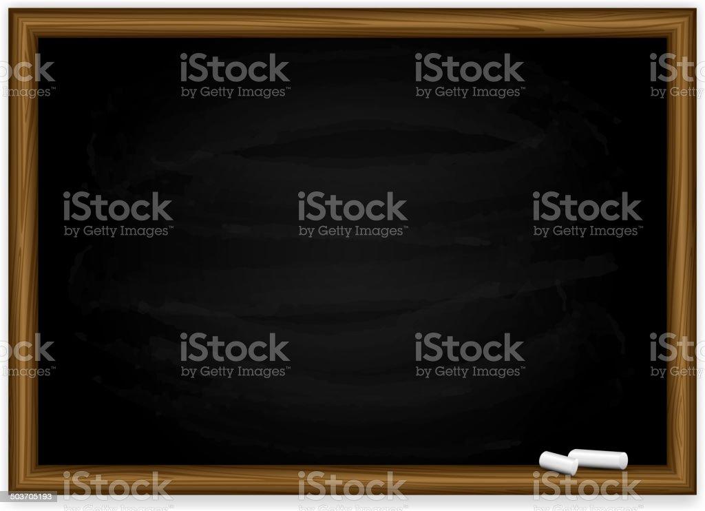 Tableau noir - Illustration vectorielle
