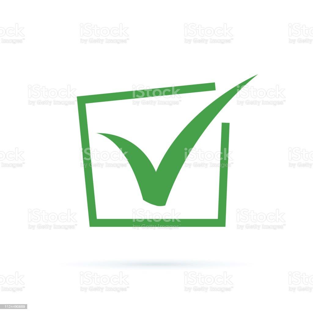 Black Check Mark Icon Tick Symbol Tick Icon Vector