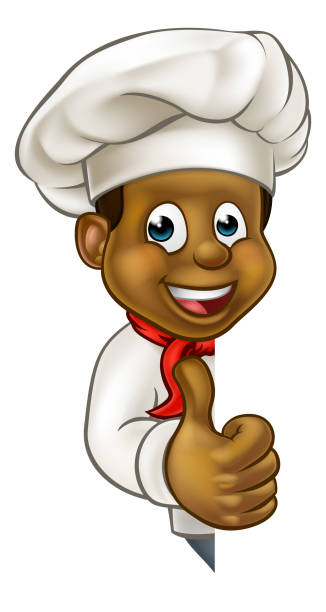 Best Black Chef Illustrations, Royalty-Free Vector ...