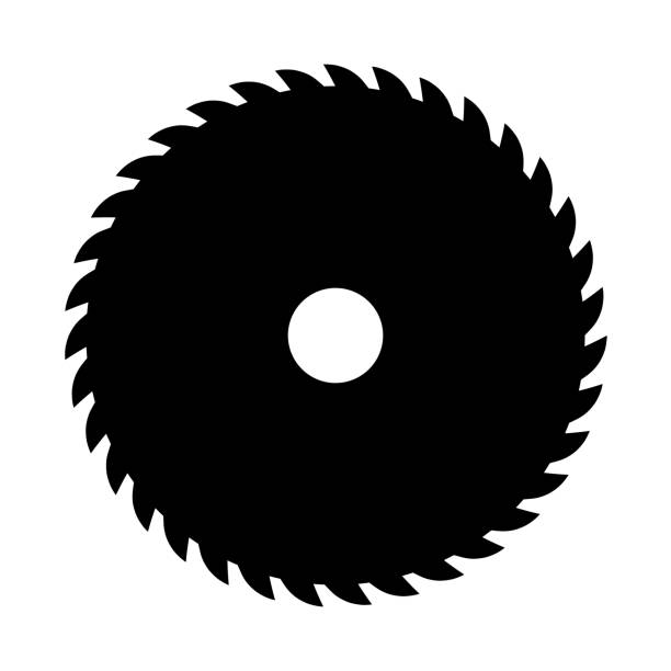 Saw Blade Illustrations, Royalty-Free Vector Graphics ...