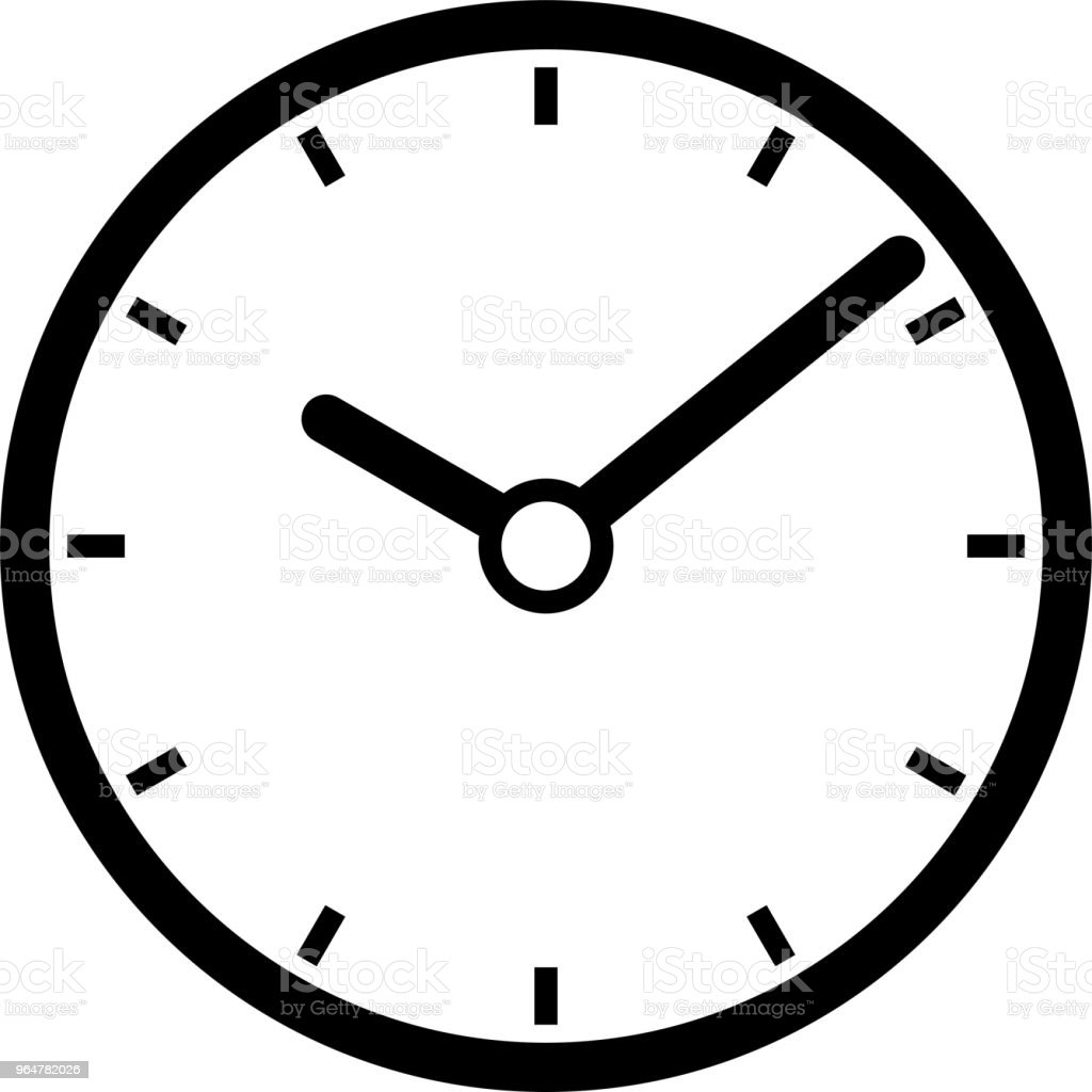 Black Clock illustration royalty-free black clock illustration stock vector art & more images of black and white