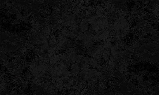 Black coloured cracked effect wall texture grunge vector background- horizontal - Illustration. No text. No people. Empty, blank. copy space. Wallpaper, grunge background. Smoky dark grey/gray blotched backdrop