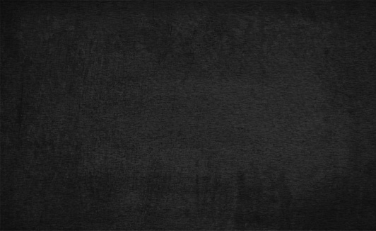 Horizontal vector illustration of a empty, blank black coloured rough texture grunge vector backgrounds like a blackboard or a writing slate.
