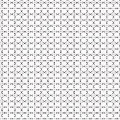 black cross sign grid pattern background