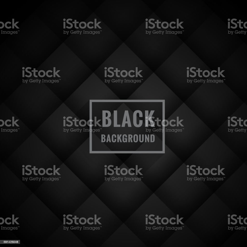 black dark background – Vektorgrafik