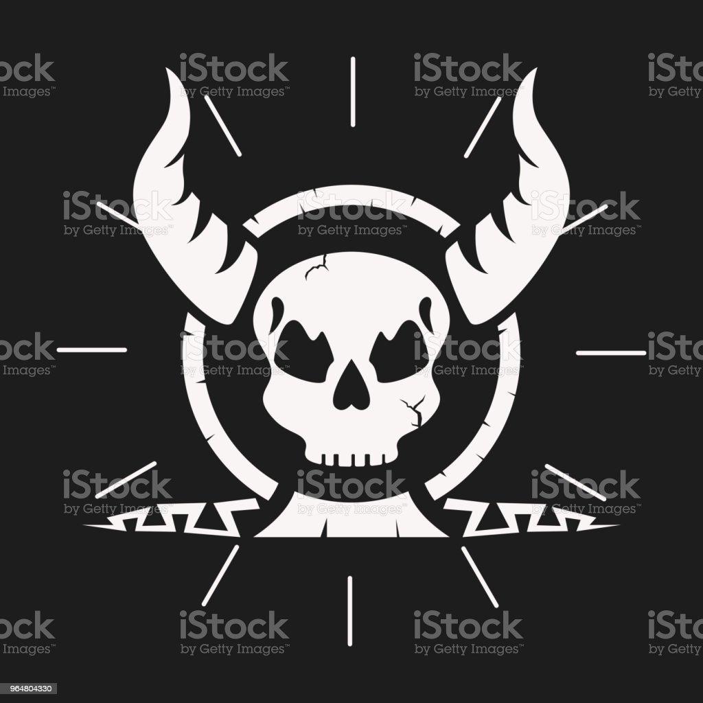 Black dark skull image royalty-free black dark skull image stock vector art & more images of art