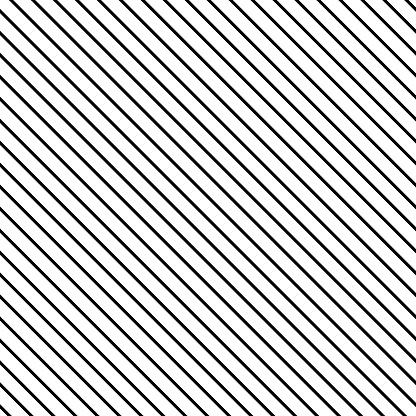 Black Diagonal Stripes Vector Template Pattern Background Mesh Direct Diagonal Stripes Parallel Lines Stock Illustration - Download Image Now