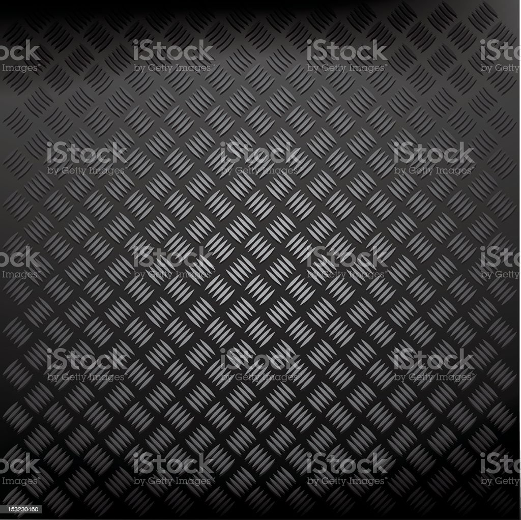 A black diamond plate background royalty-free stock vector art