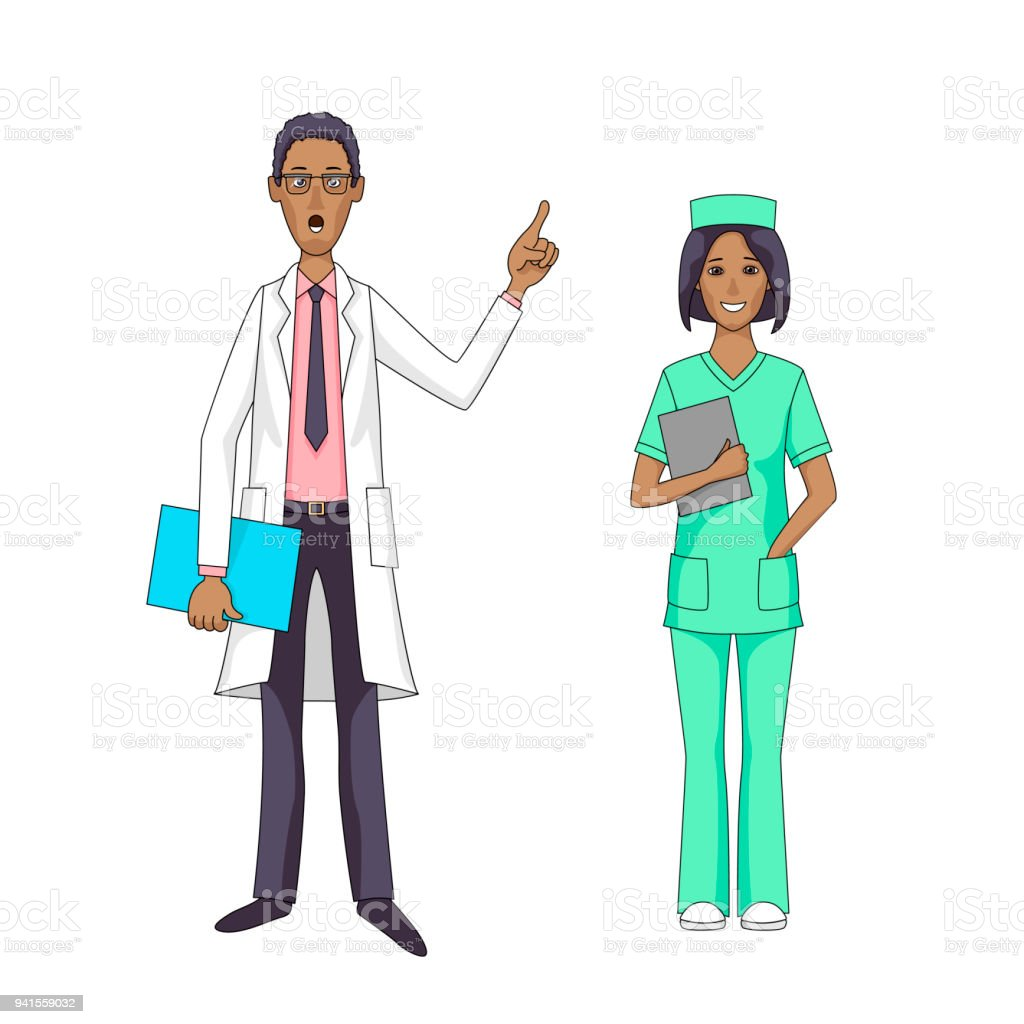 royalty free pharmacist talking clip art vector images rh istockphoto com