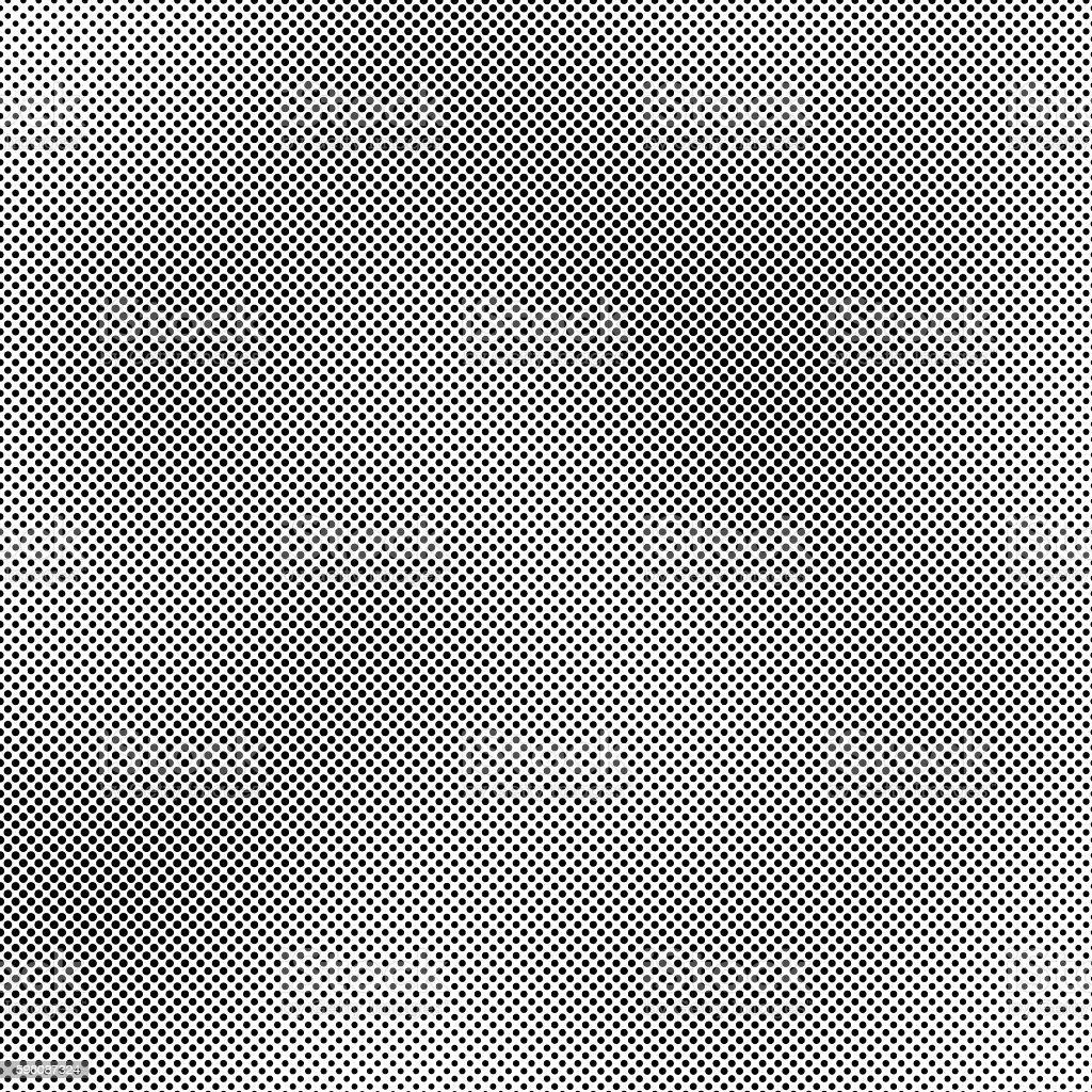 Black dots background vector art illustration
